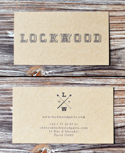 Carte de visite du Lockwood -  © Tendance Food