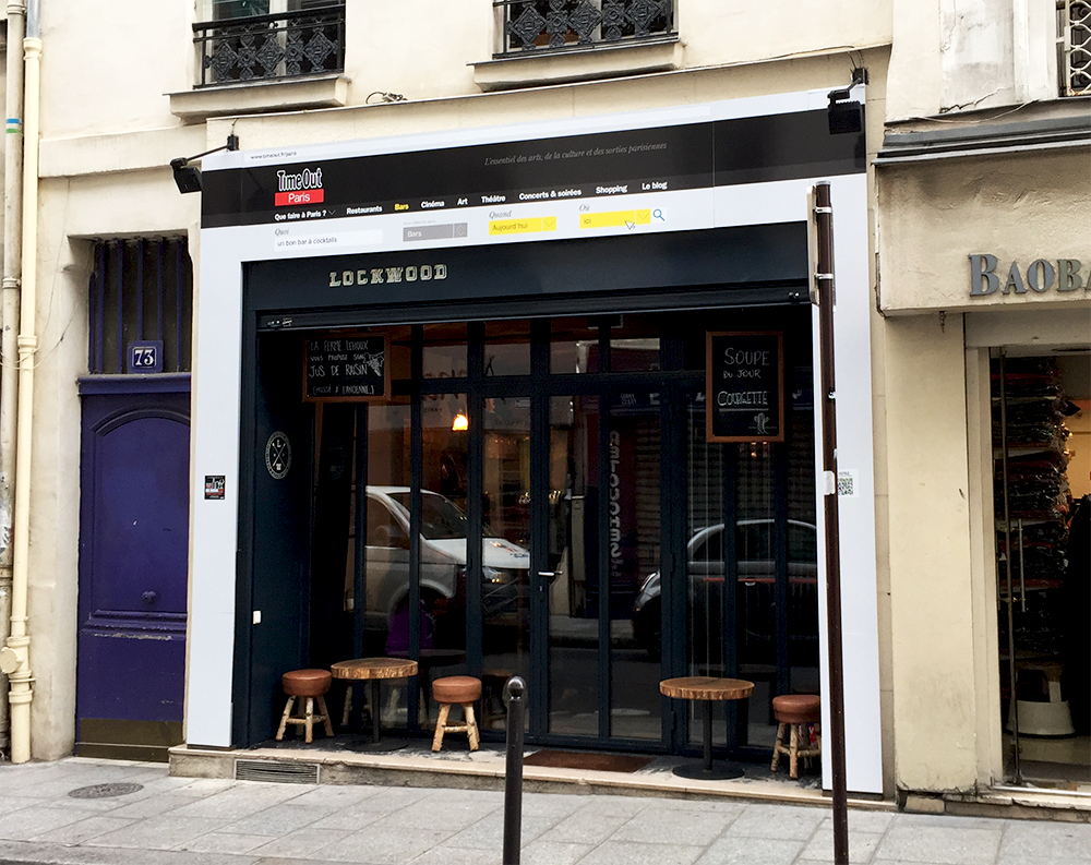 Lockwood - 73 rue d'Aboukir 75002 Paris  © Tendance Food