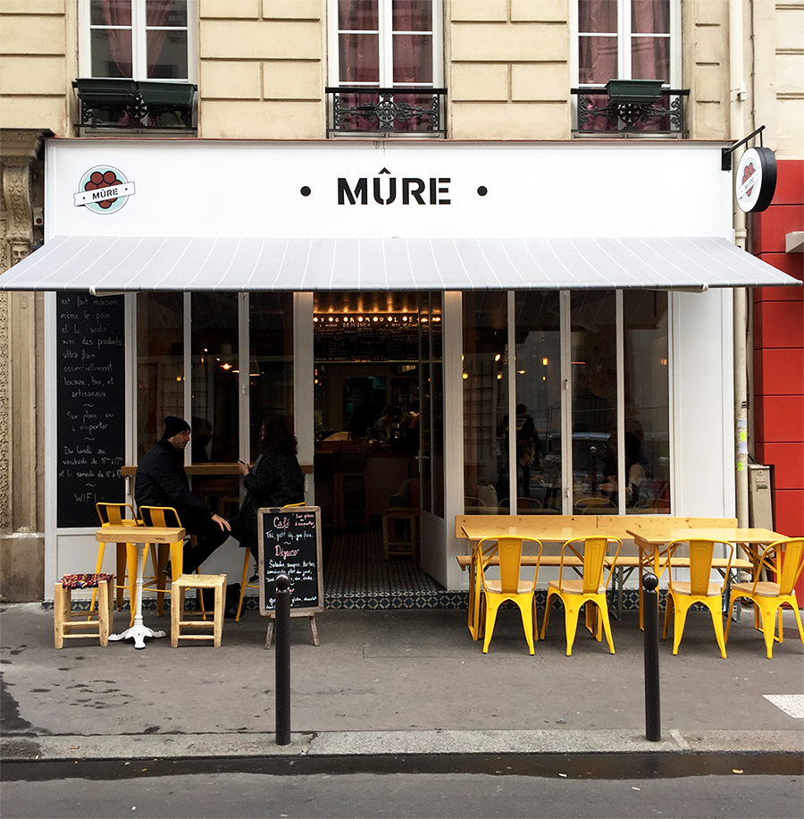 Restaurant Mûre - 6 rue Saint Marc 75002 Paris © Tendance Food