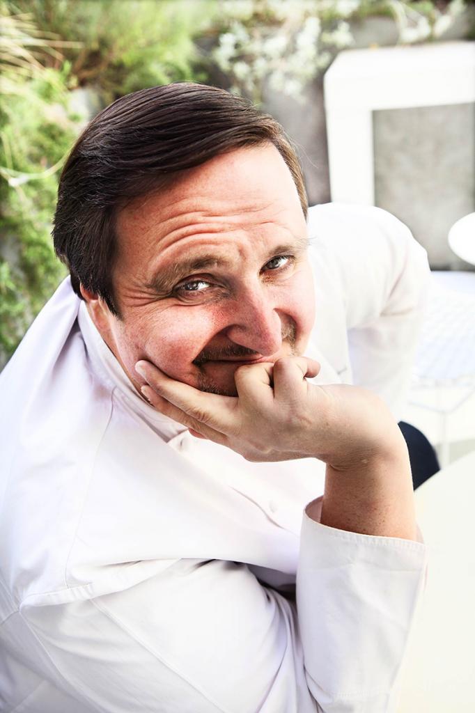 Le chef pâtissier Philippe Conticini