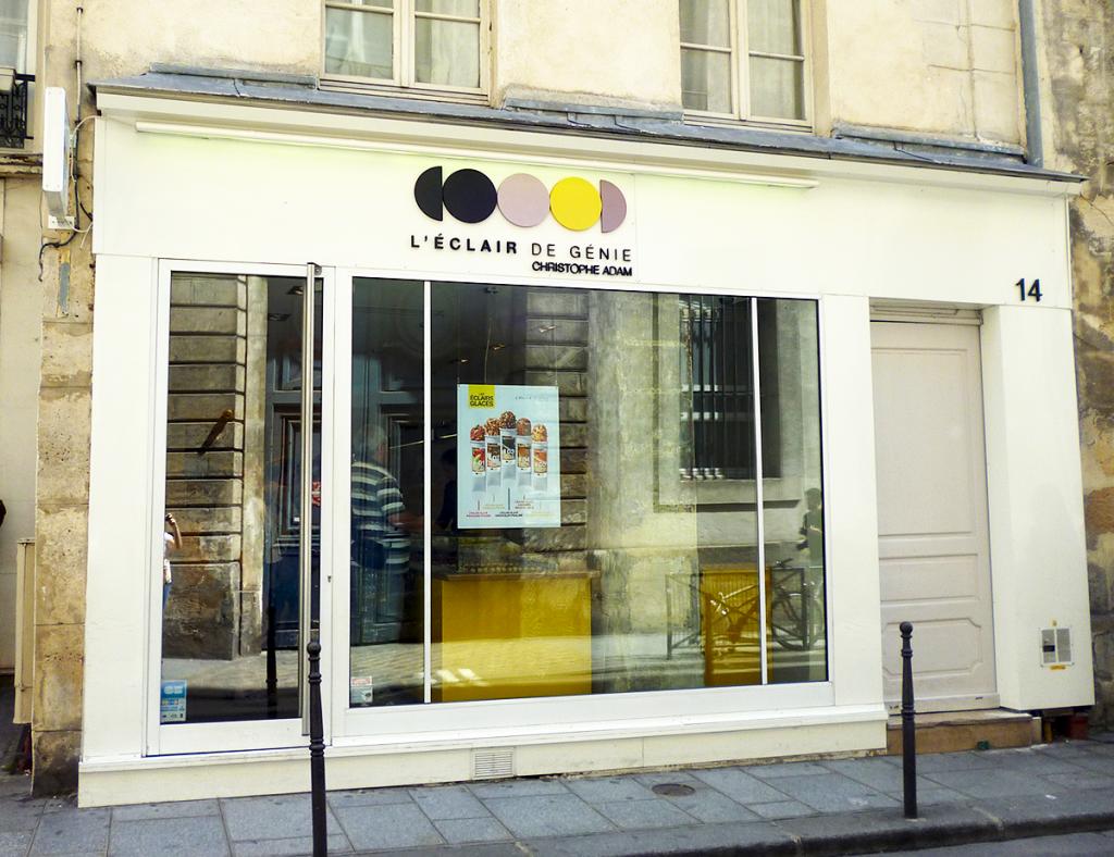 Boutique L'éclair de génie - 14 rue pavée 75001