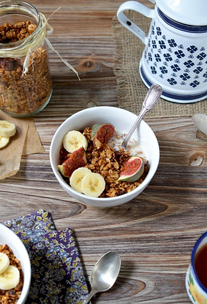 Granola aux 5 noix - Tendance Food