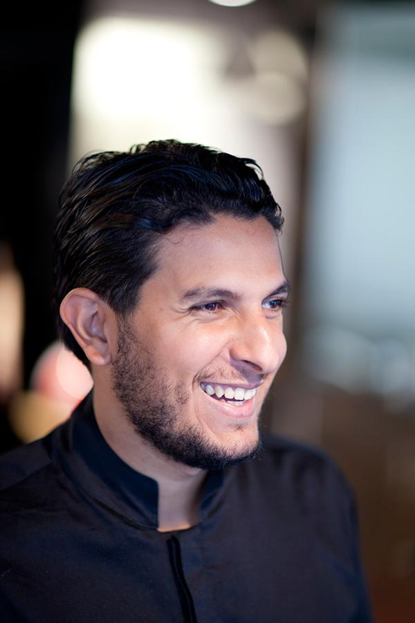 Le chef Akrame Benallal - © restaurant Akrame