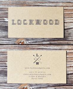 Carte de visite du Lockwood -  © Tendance Food