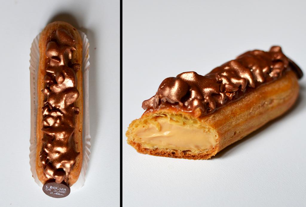 Éclair Chouchou caramel  - L'Éclair de Génie © tendancefood.com