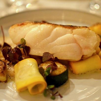 Pavé de lieu jaune - Restaurant Coretta