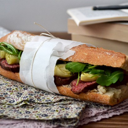 Sandwich de boeuf au raifort - Tendance Food