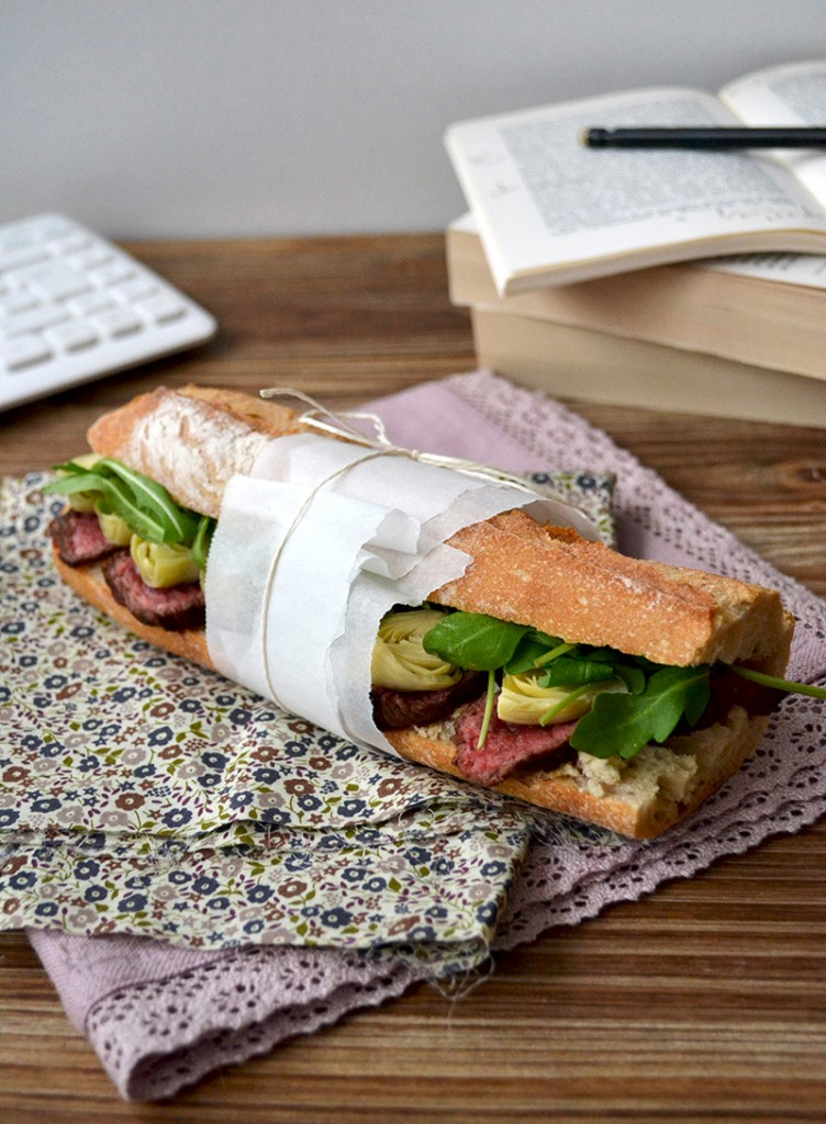 Sandwich de boeuf au raifort - Tendance Food
