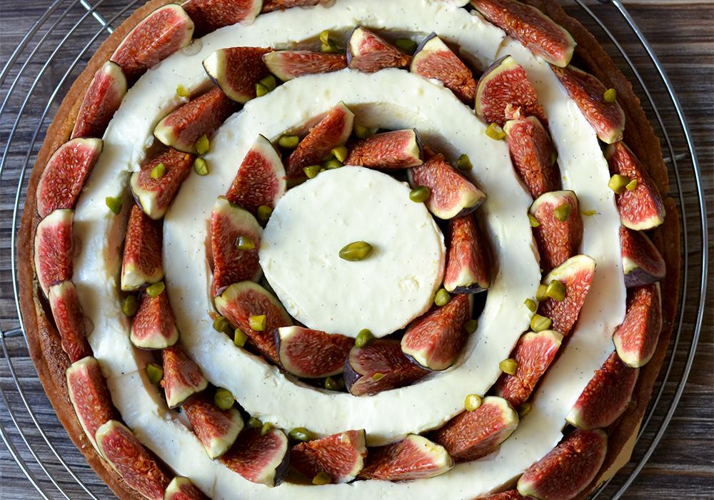 Tarte figues orange et fleur d oranger tendance food - Quand cueillir les figues ...