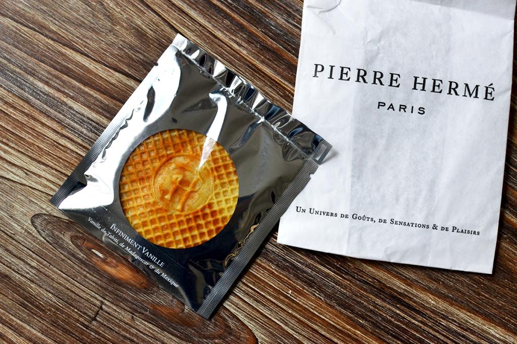 Gaufre fourrée Infiniment Vanille - Pierre Hermé © Tendance Food