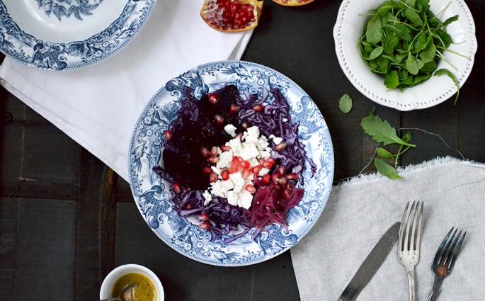 Salade pourpre © Tendance Food