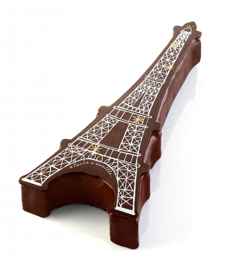 Paris s'éveille - Bûche 2014 Hugo & Victor ®RinaNurra