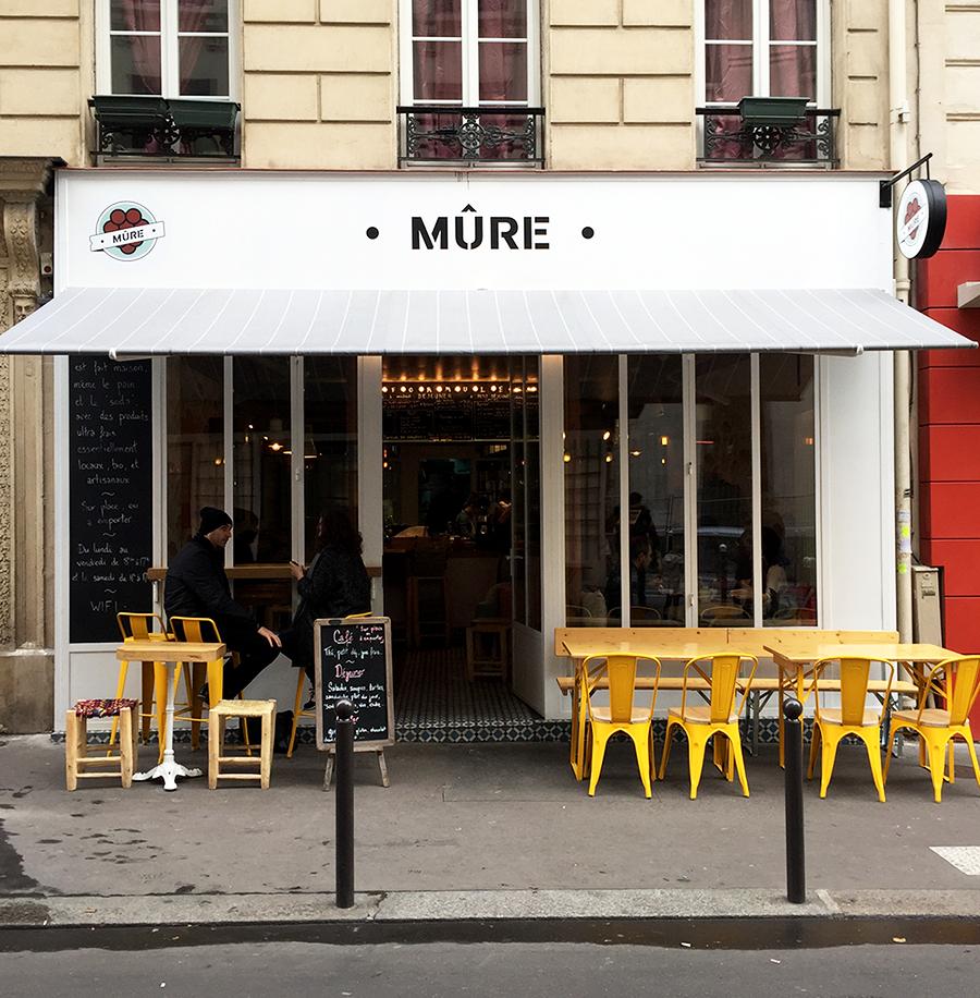 Restaurant Mûre - 6 rue Saint Marc 75002 Paris © Tendance Food