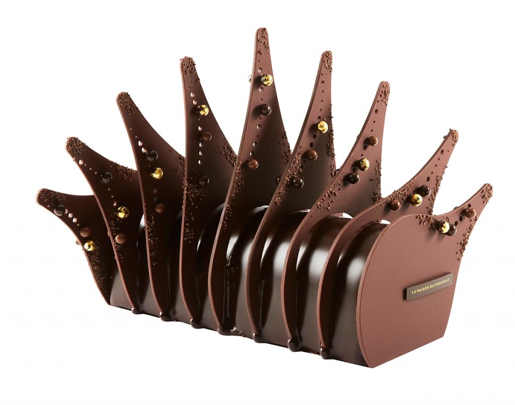 Bûche Merveilleuse - Noël 2014 - Maison du Chocolat
