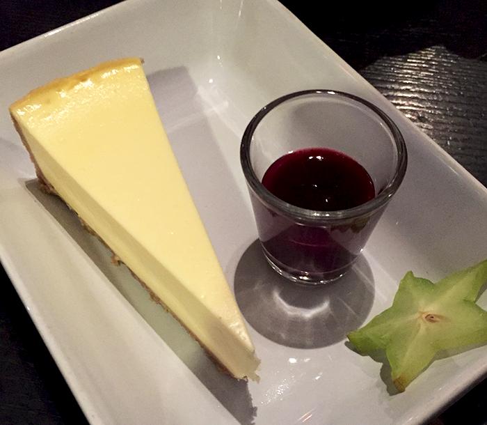 Cheesecake à l'Apérock   © Tendance Food