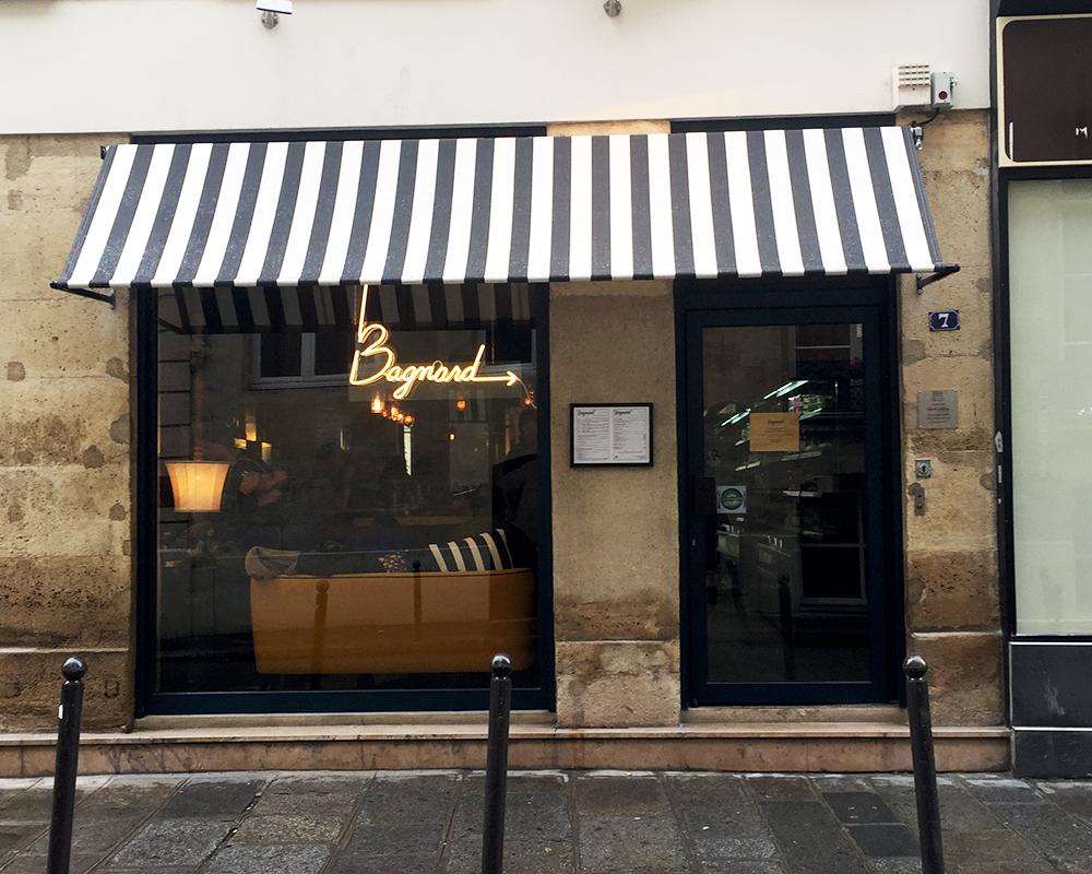 Bagnard - 7 rue Saint-Augustin 75002 Paris  © Tendance Food