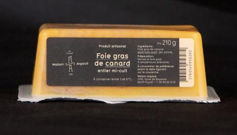 Foie gras mi-cuit de la Maison Argaud – Terra Gourma