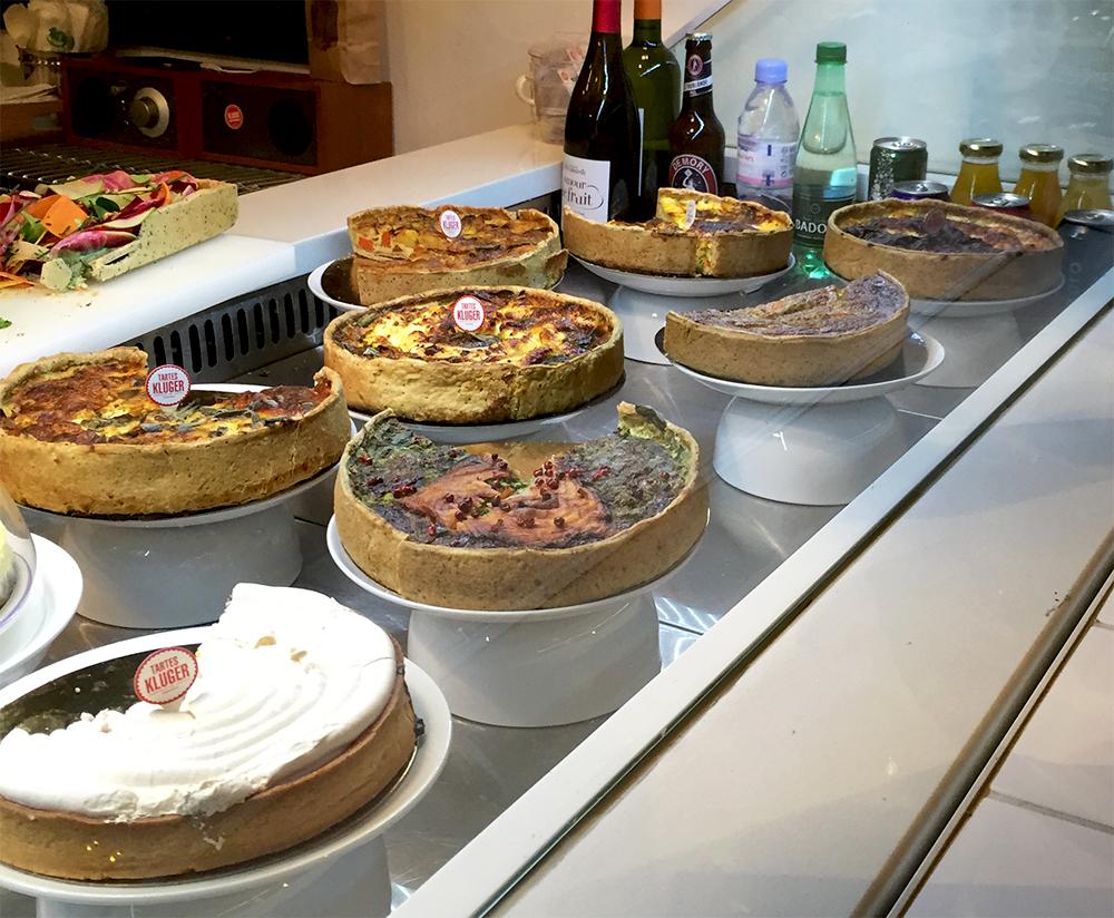 Comptoir de tartes - La Fabrique Kluger © Tendance Food