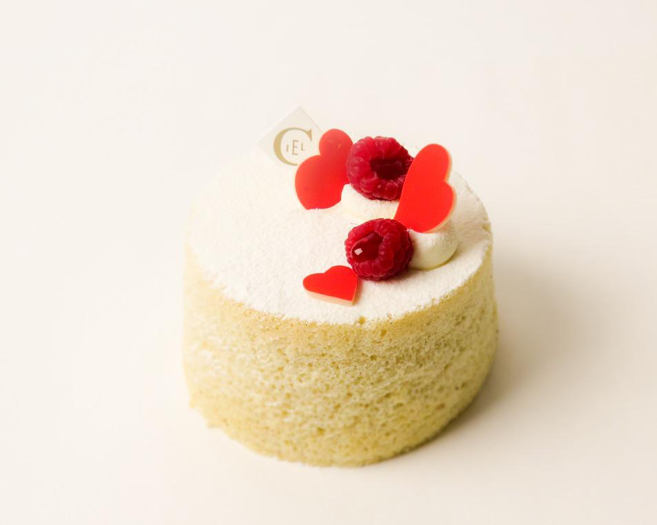 Angel cake Saint-Valentin 2015 - Pâtisserie Ciel © Yun D. Li