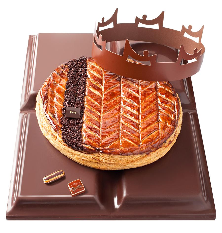 Galette Nazca - La Maison du Chocolat ®Laurent Rouvrais