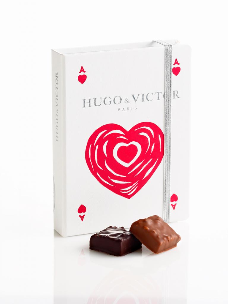 Carnet As de Cœur - Saint Valentin 2015 - Hugo & Victor