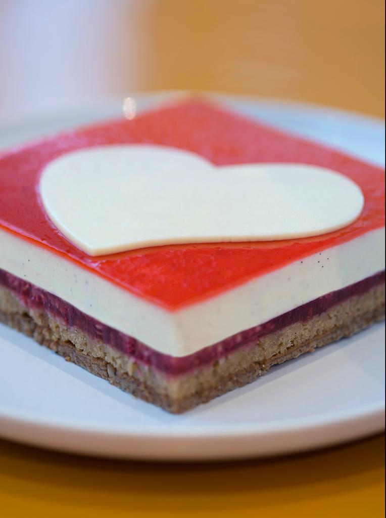 Gâteau de la Saint Valentin - La Pâtisserie des Rêves