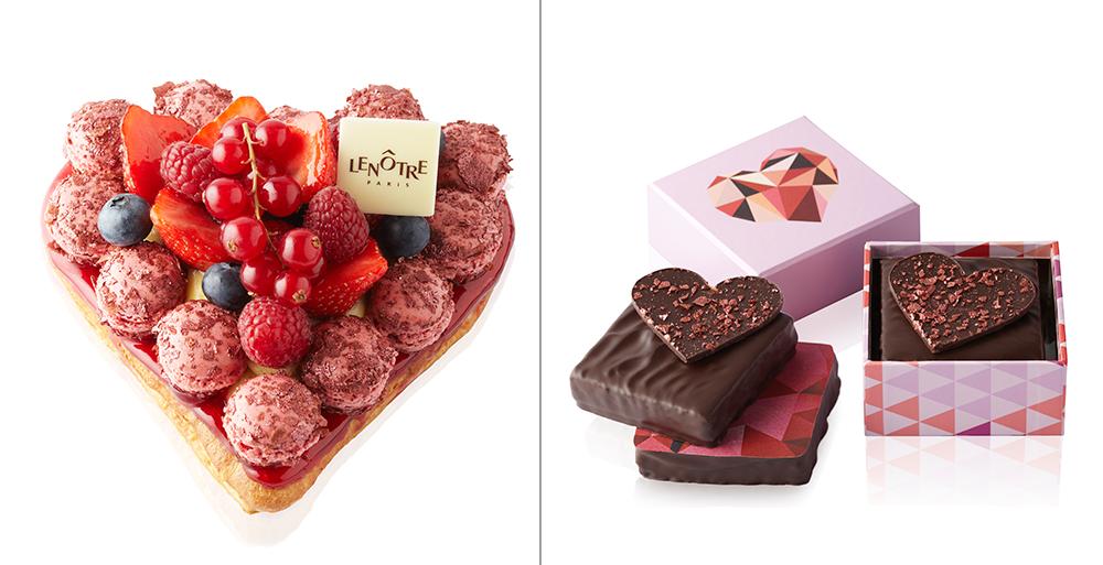 Amour de Saint Honoré et boîte de chocolats Love Story - Saint Valentin 2015 - Lenôtre ©T.Dhellemmes