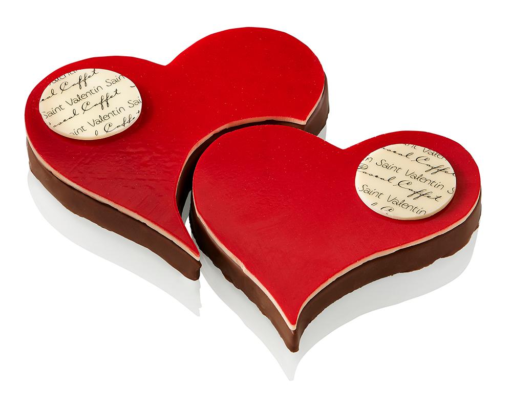 Bouchées Coeur - Saint Valentin 2015 - Pascal Caffet
