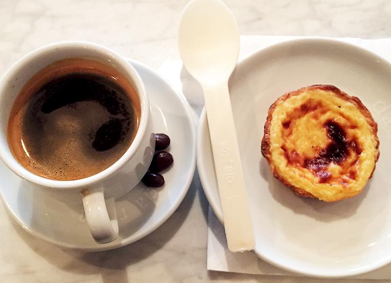 Café et Pastel de nata - Il Caffé Da Rosa ©TendanceFood.com