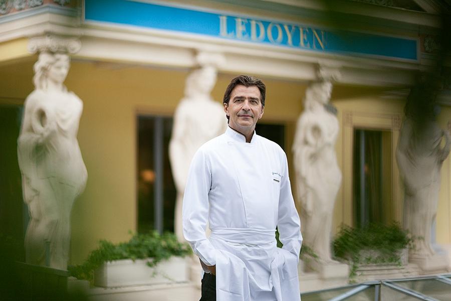 Le chef Yannick Alléno © Geoffroy de Boismenu