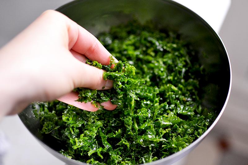 Massage de Kale ©TendanceFood.com