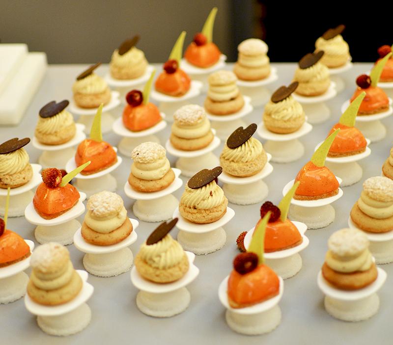 Mignardises sucrées MOF pâtissiers confiseurs 2015 ©TendanceFood.com