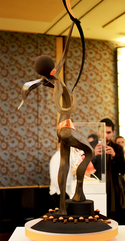 Pièce chocolat  - Julien Boutonnet  ©TendanceFood.com