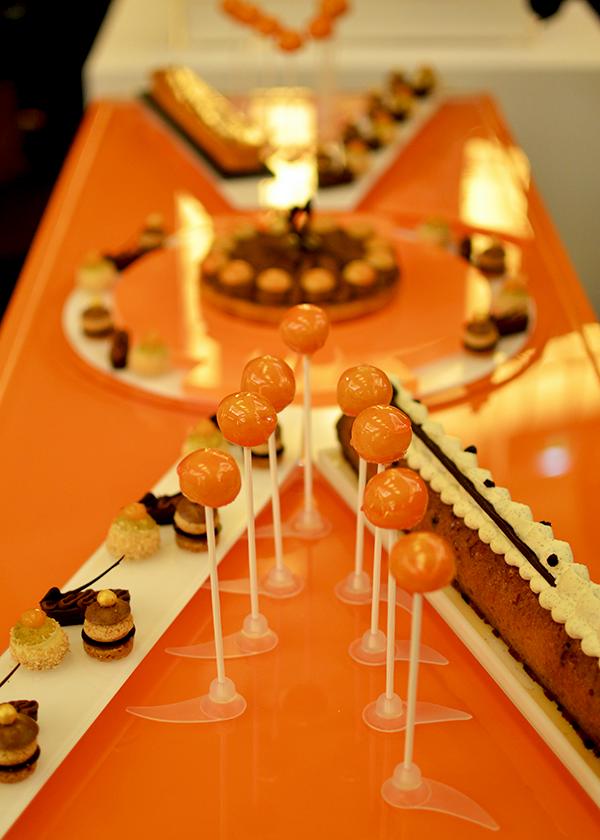Buffet thème St Valentin  - Julien Boutonnet  ©TendanceFood.com
