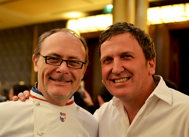 Jean-Paul Hévin et Christophe Felder  ©TendanceFood.com