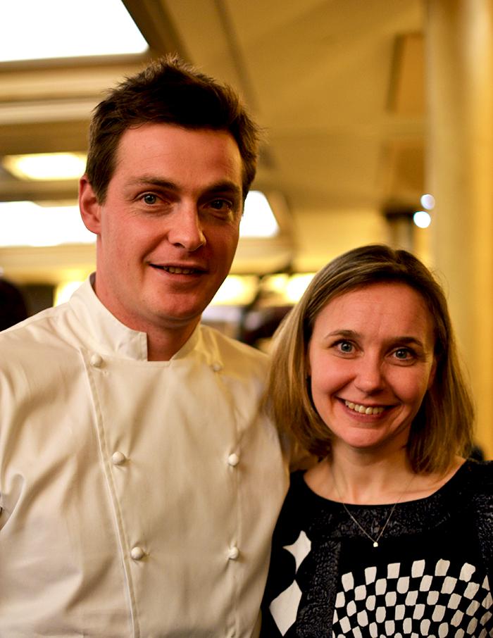 Christophe Renou et sa femme ©TendanceFood.com