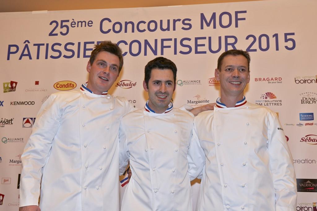 De g. à dr. : Christophe Renou, Julien Boutonnet et Jérôme Chaucesse ©Franck Kauff