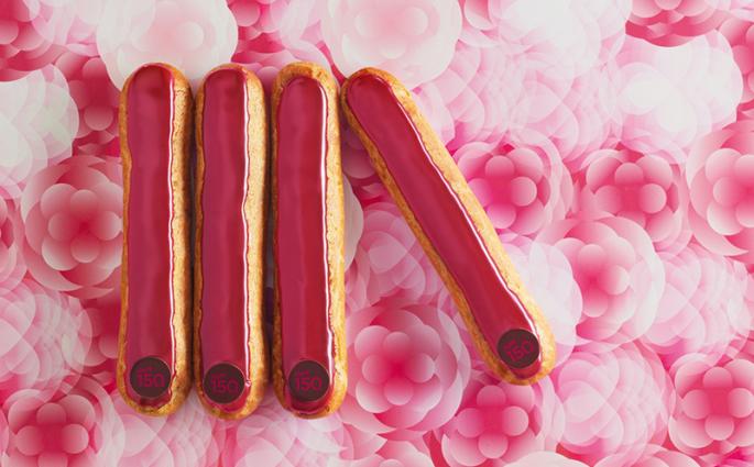 Eclairs chocolat-framboise - Printemps / La Maison du Chocolat ©Caroline Faccioli