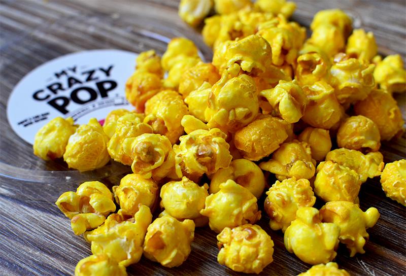 Pop-corn caramel de citron - Crazy Pop  ©TendanceFood.com