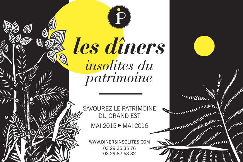 Les Diners Insolites du Patrimoine 2015/2016