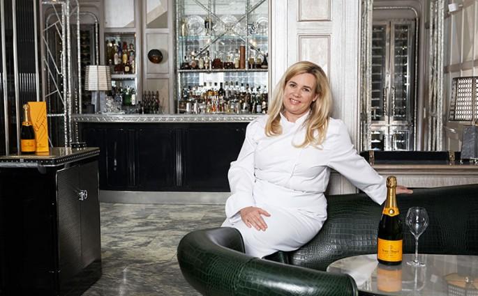 La chef Hélène Darroze - « Meilleure femme chef du monde » Prix Veuve Cliquot 2015