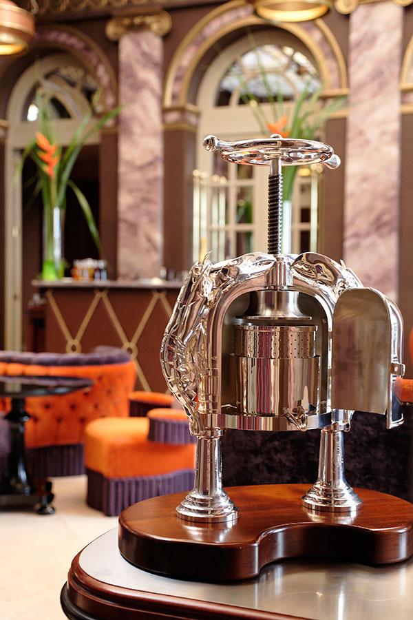 Presse à homard - Restaurant Le Pressoir d'Argent @Alain-Caboche