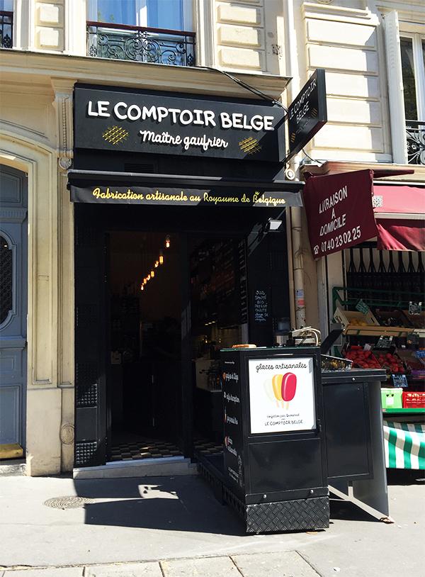 Gaufre Liégeoise - Le Comptoir Belge