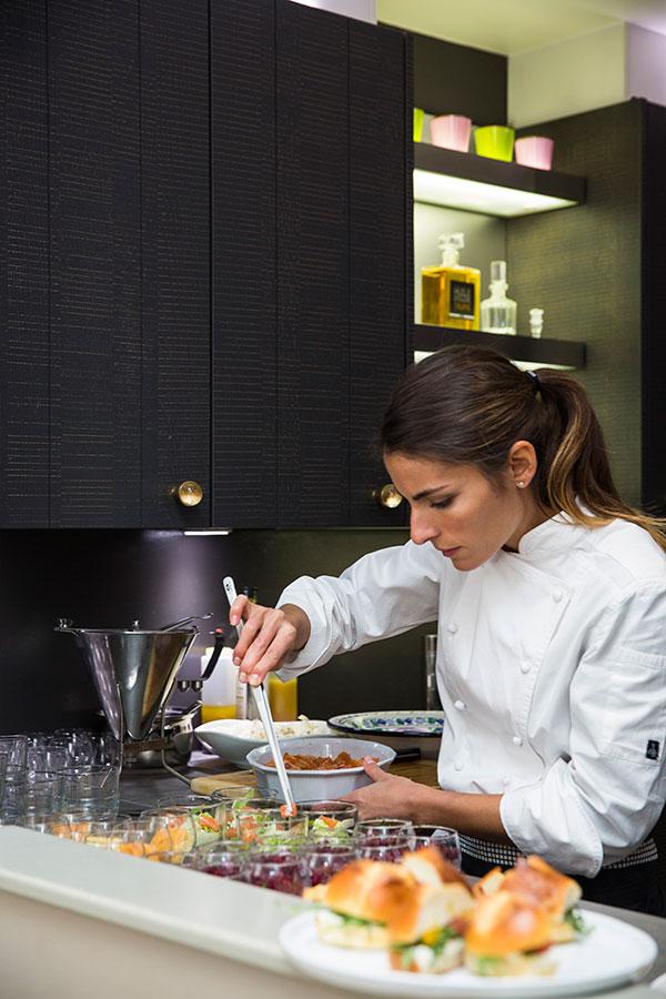 La chef Jennifer Taïeb - Cointreau Fizz Privé ©Pascal Montary