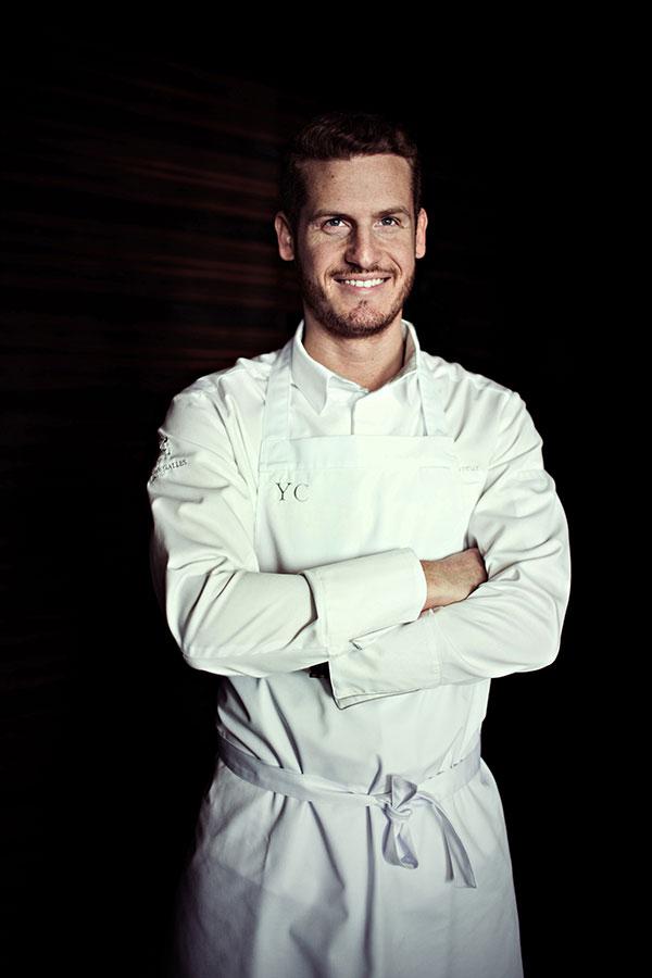 Le Chef pâtissier Yann Couvreur - Prince de Galles