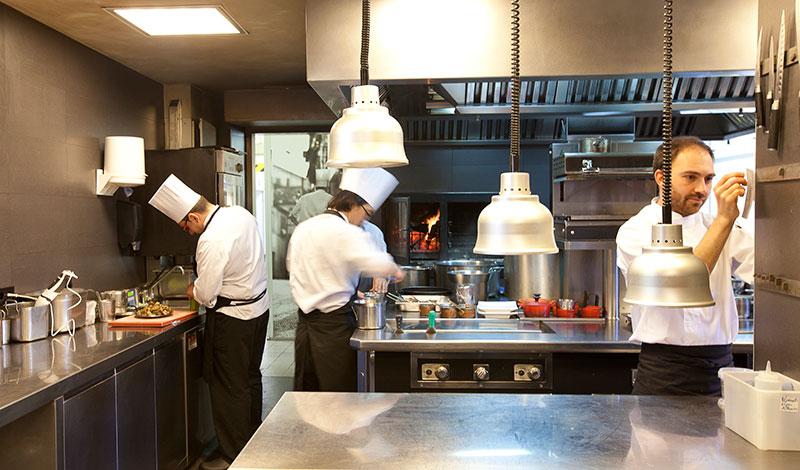 Les cuisines du restaurant espagnol ©El Celler de Can Roca