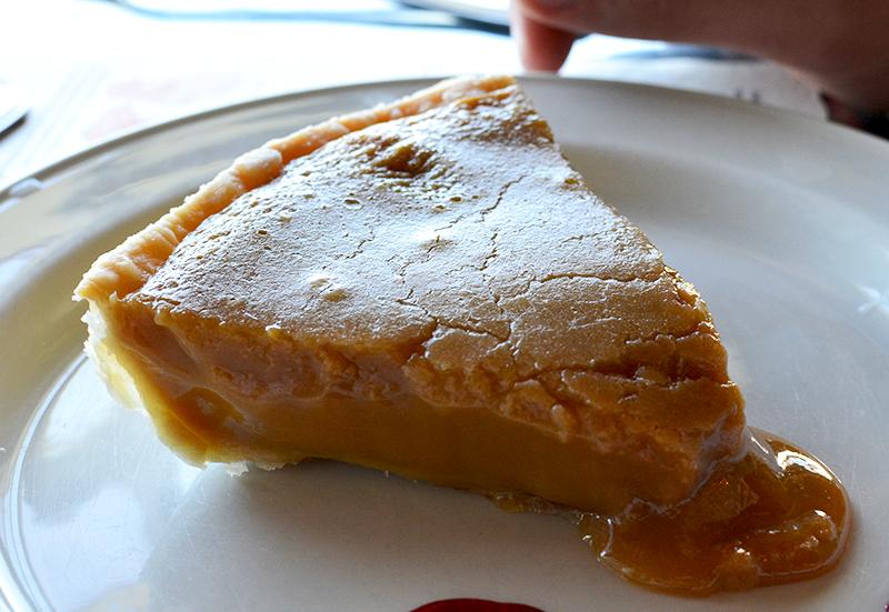 Tarte au sucre - Pâtisserie Aux Bienfaits  ©TendanceFood.com