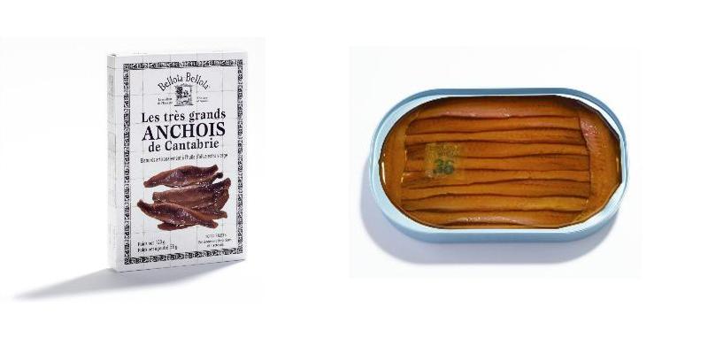 Les très grands anchois de Cantabrie © Bellota Bellota