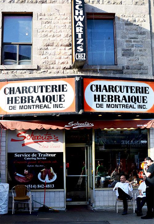 Charcuterie Schwartz's - Montréal ©TendanceFood.com