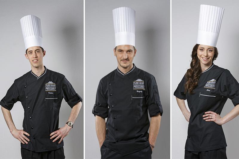 """Le trio gagnant de l'émission """"Qui sera le prochain Grand Pâtissier?"""" ©France 2"""